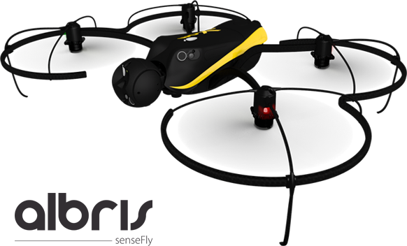 With Albris, the Aerial Survey drone, we can switch between capturing video, still and thermal imagery during the same flight, without landing to change cameras.
